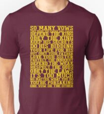 So Many Vows Unisex T-Shirt