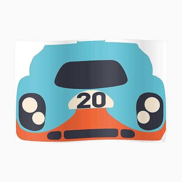 Le Mans Porsche Poster