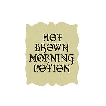 Hot Brown Morning Potion by LordNeckbeard