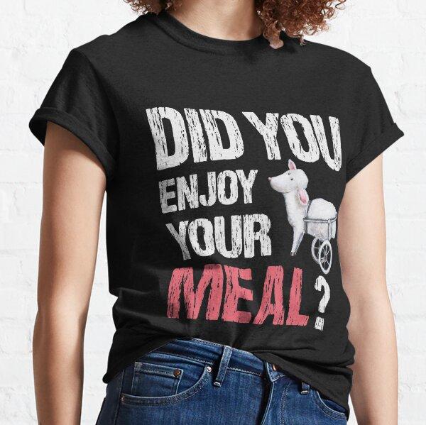 Statement für Tierrechte - Veganes Motiv Classic T-Shirt