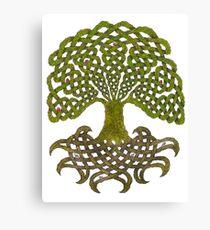 Celtic Yggdrasil - Tree of Life Canvas Print