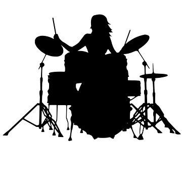drummer by schnibschnab