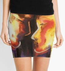 Two Heads, One Heart Mini Skirt