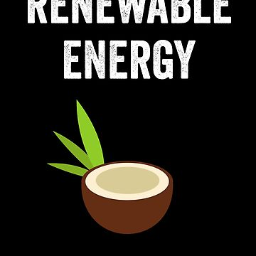 Tropical Coconut Renewable Energy by with-care