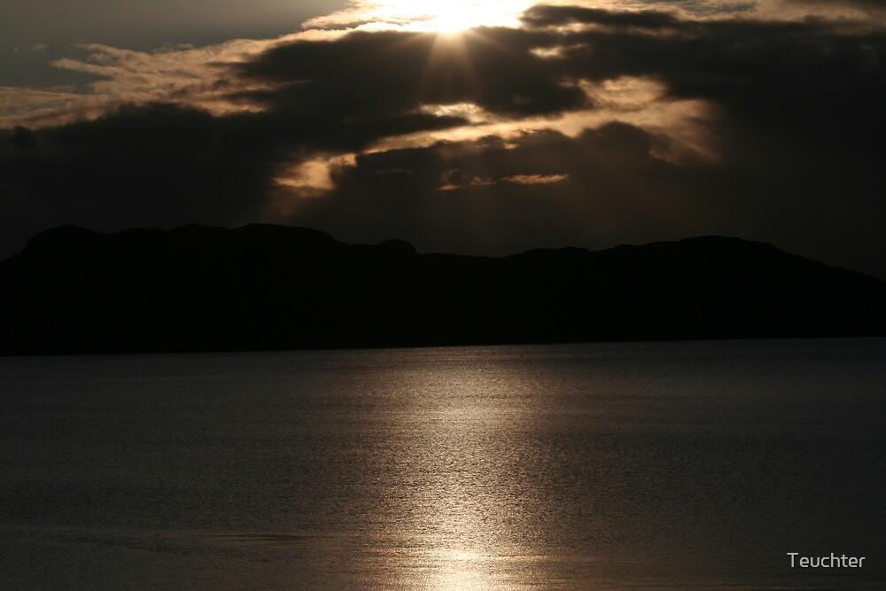 Evening sunset by Teuchter