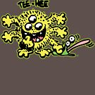 """""""Tee-Hee"""" Little Cartoon Monster T-Shirt by Cheerful Madness!! by cheerfulmadness"""