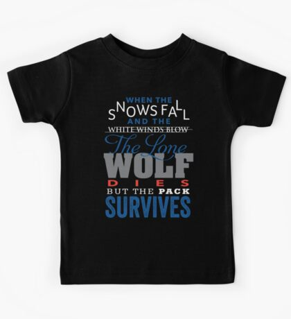 The Lone Wolf Kids Clothes