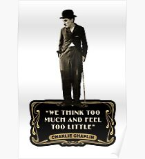 Poster The Great Dictator Redbubble