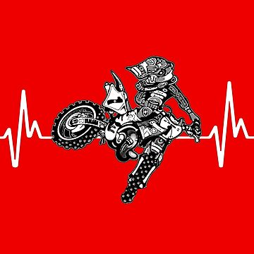 Motocross Heartbeat by biggeek