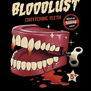 Wind-Up Killer Teeth by vincenttrinidad