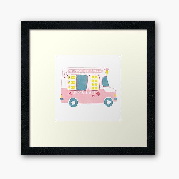 Ice Cream Van Framed Art Print