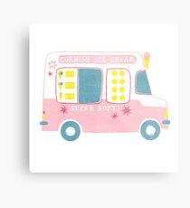 Ice Cream Van Metal Print