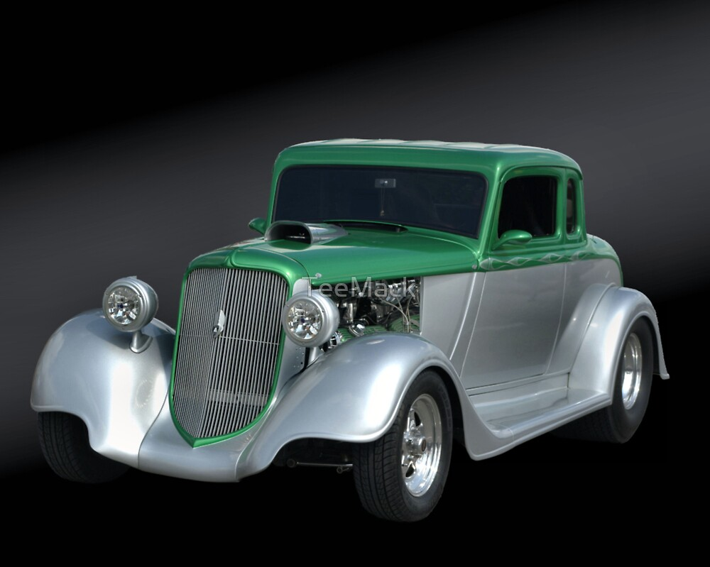 1934 Plymouth Coupe by TeeMack
