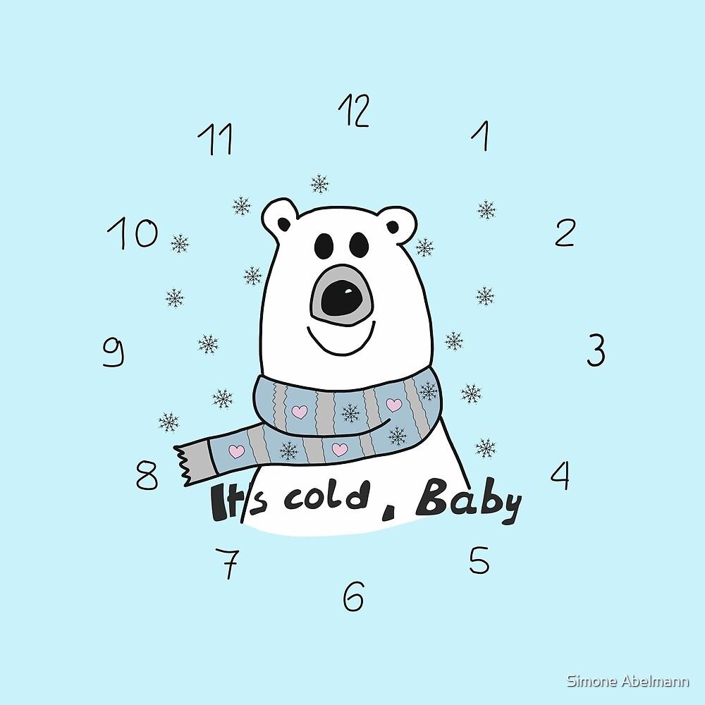 Eisenbär - It's cold Baby von Simone Abelmann