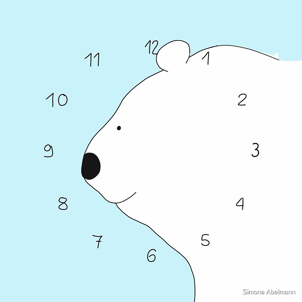 Eisbär von Simone Abelmann