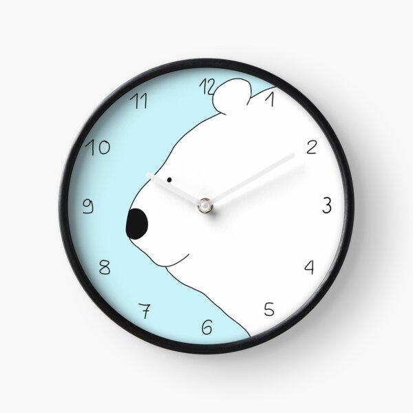Eisbär Uhr