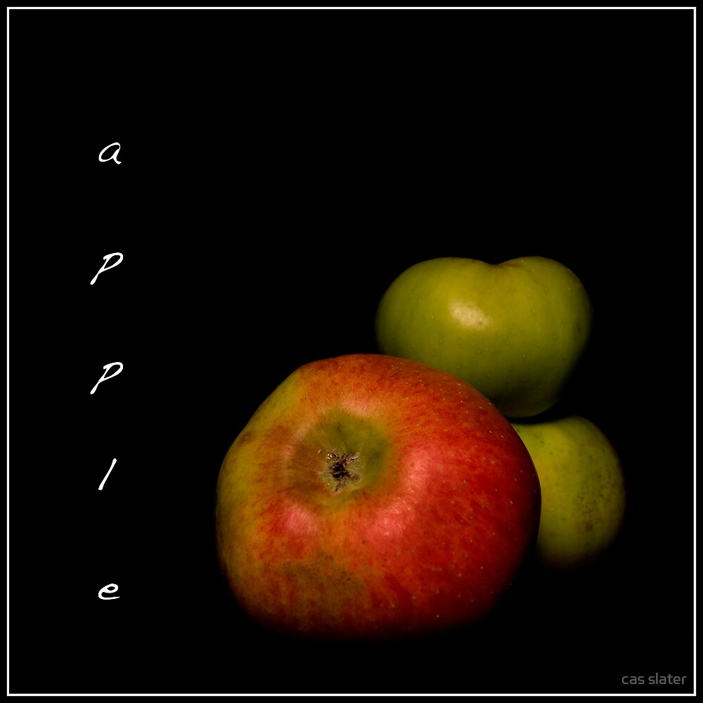 Apples by cas slater