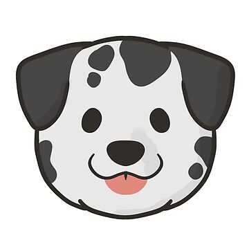 Dalmatian Face by ncdoggGraphics