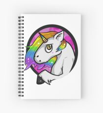 The good - The bad -The unicorn Spiral Notebook