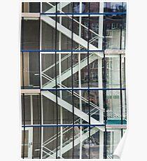 Garage Stairs Poster