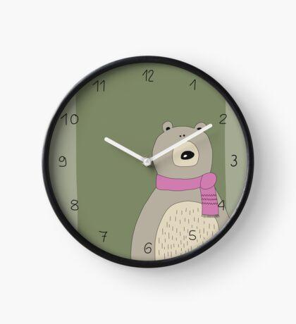 Süßer Bär Uhr