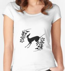 GREYHOUND Women's Fitted Scoop T-Shirt