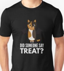 Tortoiseshell Cat Halloween Trick or Treat Unisex T-Shirt