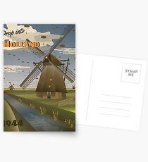"Holland 1944 ""Operation Market Garden Travel Poster"" Postcards"