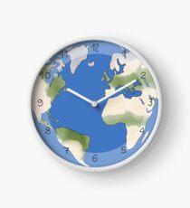 Weltkugel, World Uhr