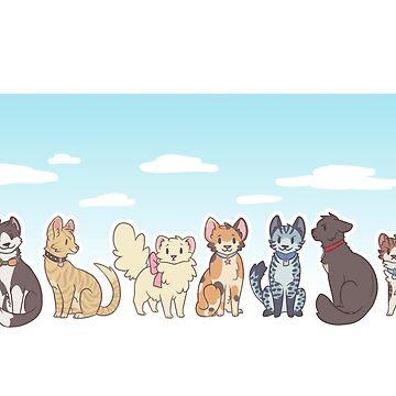 Cat-gerou Days by Etsuko667