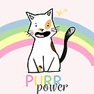CAT PURR POWER by AdeleManuti