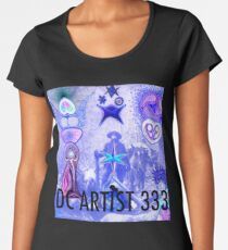 DC Artist 333 In The Daytime (with caption) Women's Premium T-Shirt