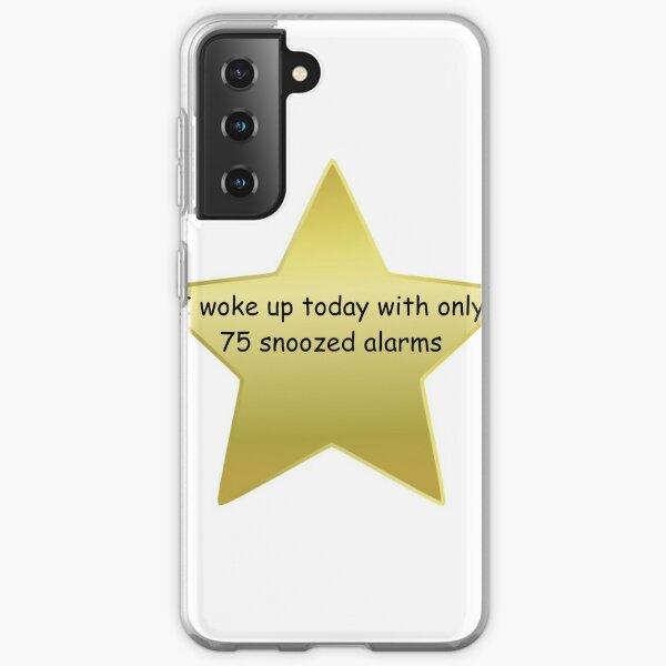 Gold Star - Waking Up Samsung Galaxy Soft Case