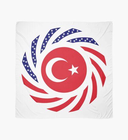 Turkish American Multinational Patriot Flag Series Scarf