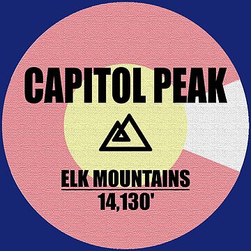 Capitol Peak by esskay