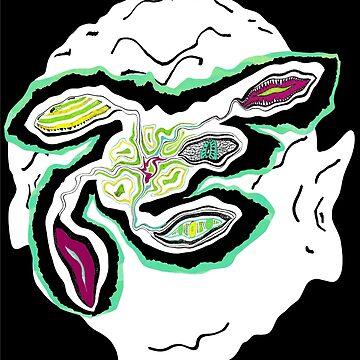 Edward L. Alienface by TangoLea
