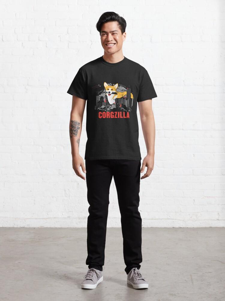 Alternate view of CORGZILLA Classic T-Shirt
