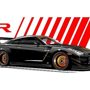 R35 GTR by hafisdesign