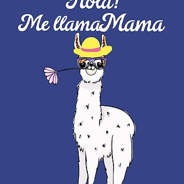 Mama Llama Gift Ideas For Llma Lovers Moms Shirt by Teeshirtrepub