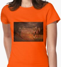 Lest We Forget Womens Fitted T-Shirt