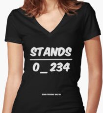 No One Understands Women's Fitted V-Neck T-Shirt