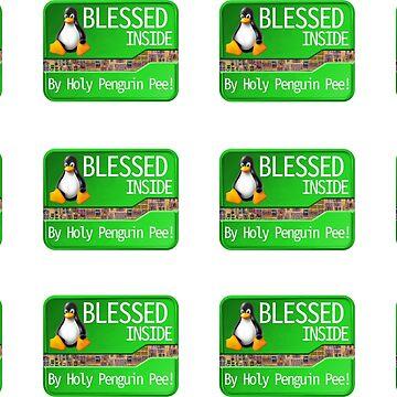 Blessed Inside - Case Sticker Set by Heath3827