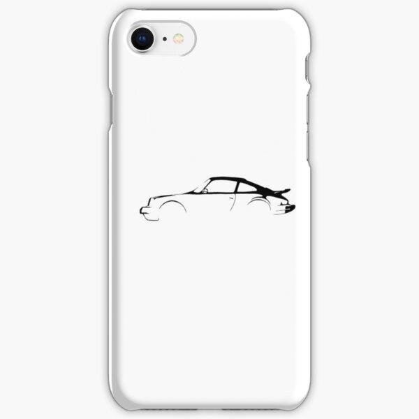 Silhouette Porsch iPhone Snap Case