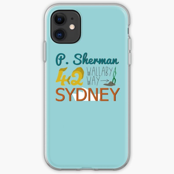 P. Sherman 42 Wallaby Way Sydney iPhone Soft Case