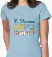 P. Sherman 42 Wallaby Way Sydney Women's Fitted T-Shirt