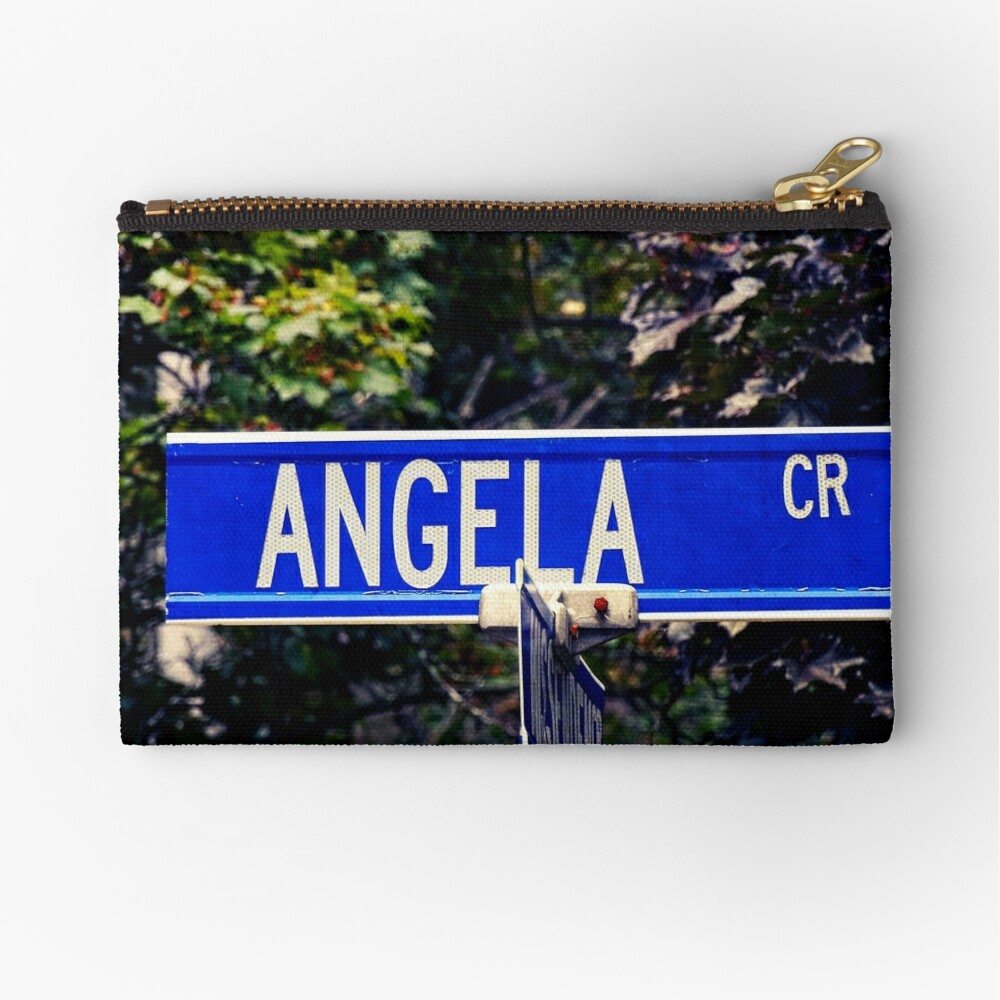 Angela  Zipper Pouch