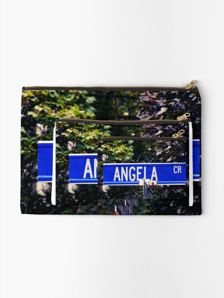 Alternate view of Angela  Zipper Pouch