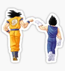 Goku Vegeta Stickers Redbubble