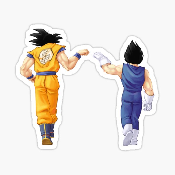 Goku Vegeta - Saiyen Sticker