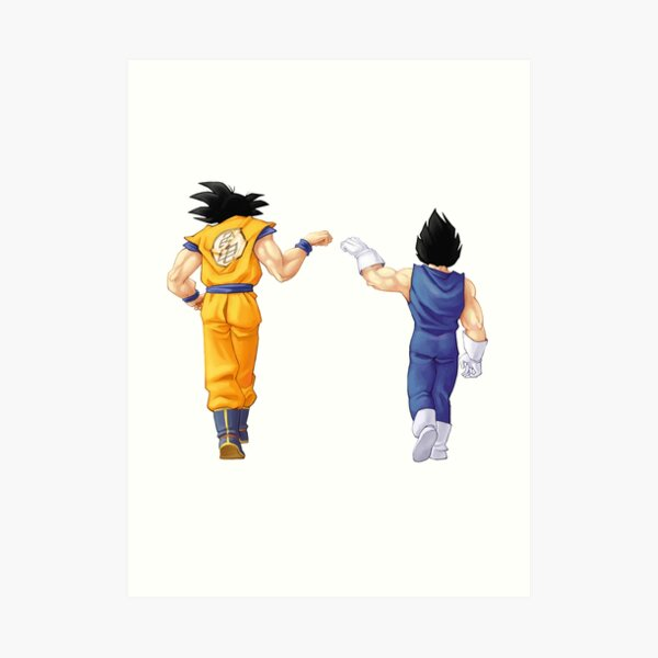 Goku Vegeta - Saiyen Art Print
